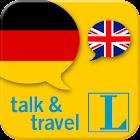 German talk&travel icon