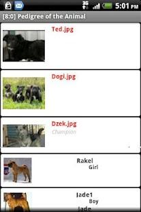 Pedigree of the Animal- screenshot thumbnail