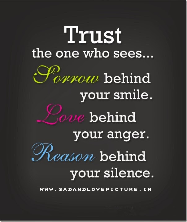 Love Quotes About Life: Trust Quotes For Him. QuotesGram