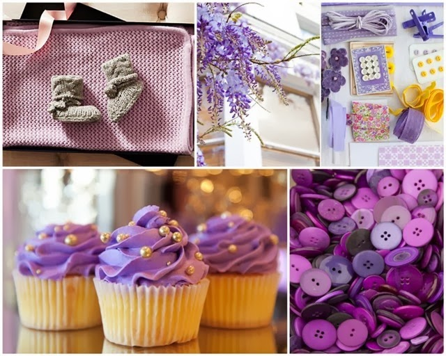 Pantone Radiant Orchid Inspiration via homework