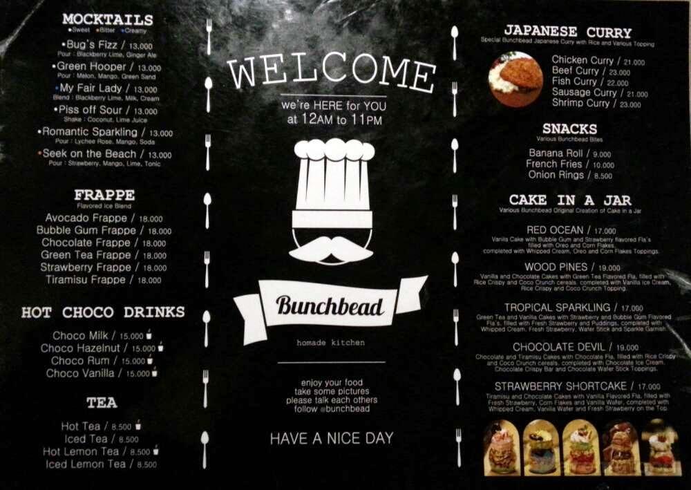 Review Bunchbead Cafe Malang Food Craver