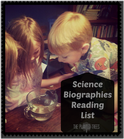 Science Biographies Reading List