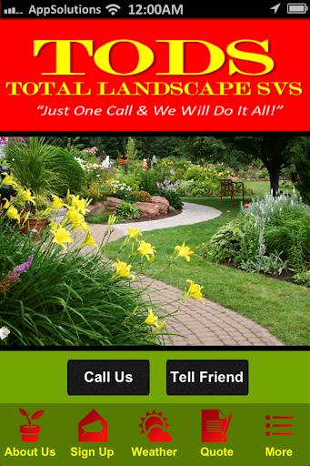 TODS Total Landscape SVS - MD