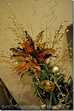 GOLD CHRISTMAS TREE (2)