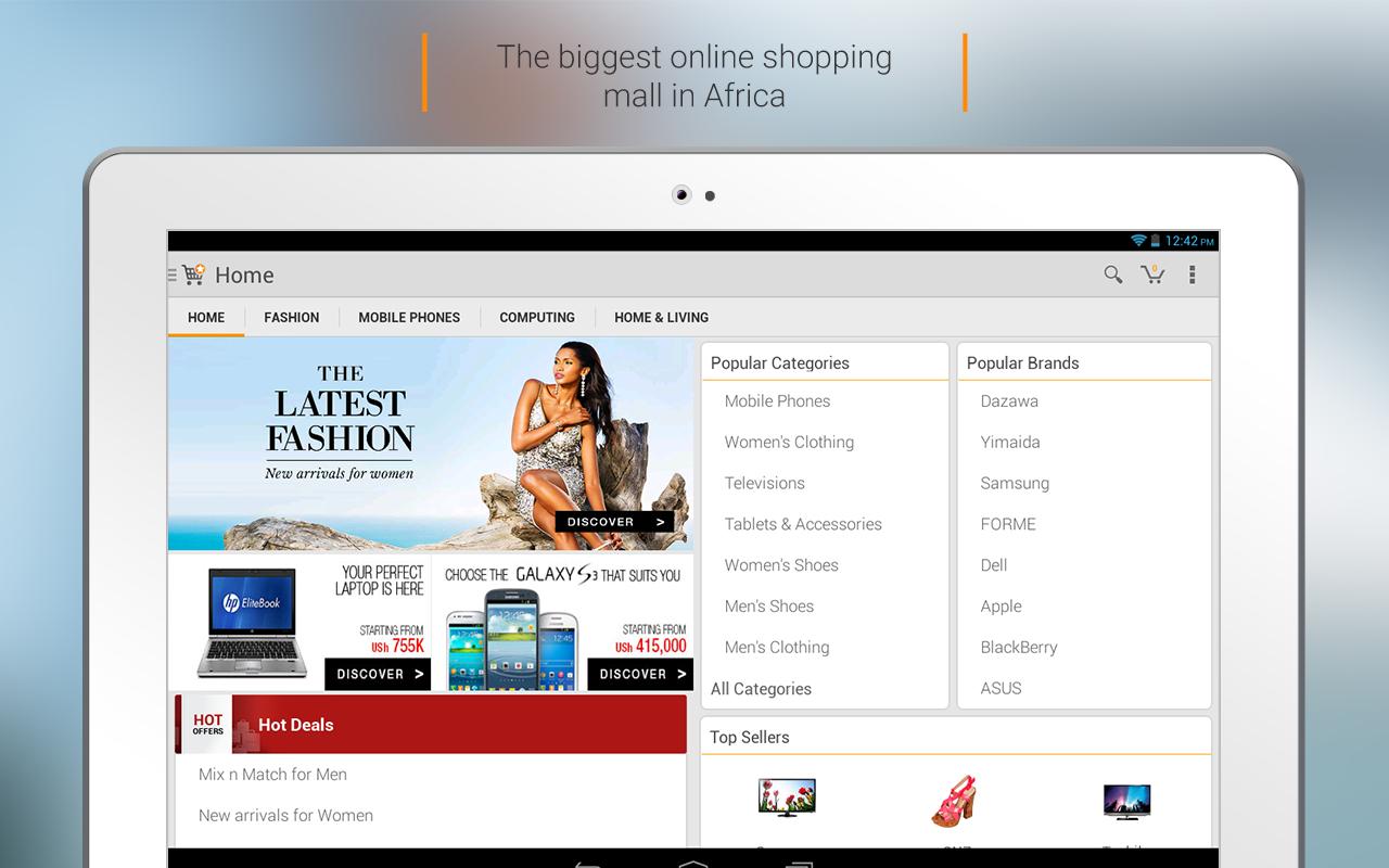 JUMIA Online shopping - screenshot