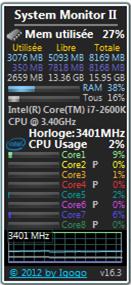 System Monitor II-16.3