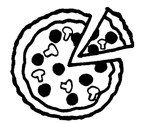 Dibujos Para Colorear Pizzas