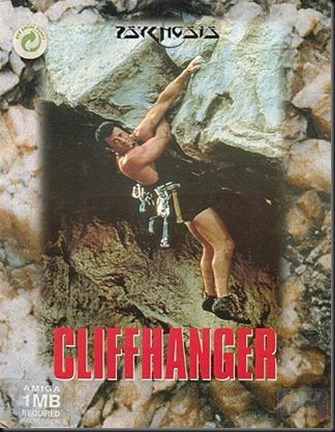 Cliffhanger box amiga version