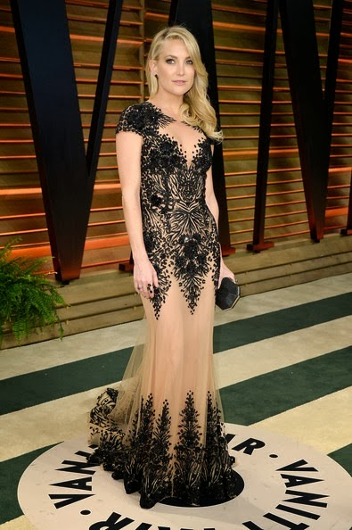 Kate Hudson attends the 2014 Vanity Fair Oscar Party