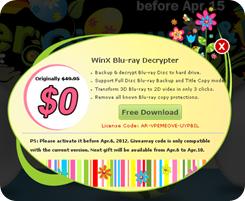 WinX Blu-ray Decrypter Easter