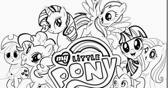 Dibujos De Pony Para Imprimir Y Colorear: Pinto Dibujos: My Little Pony Para Colorear