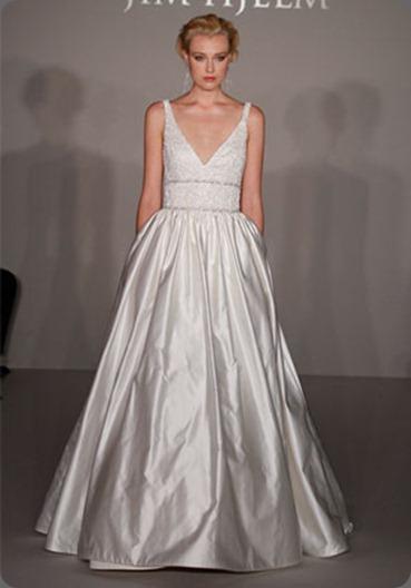 wedding dress8203_x3 JIM HJELM BRIDAL GOWNS, WEDDING DRESSES STYLE JH8203