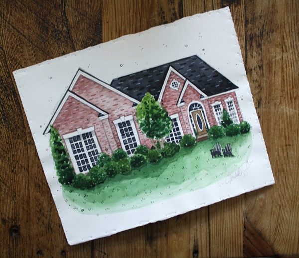 The Art of Michelle house painting