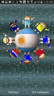 World Soccer Robots Wallpaper- screenshot thumbnail