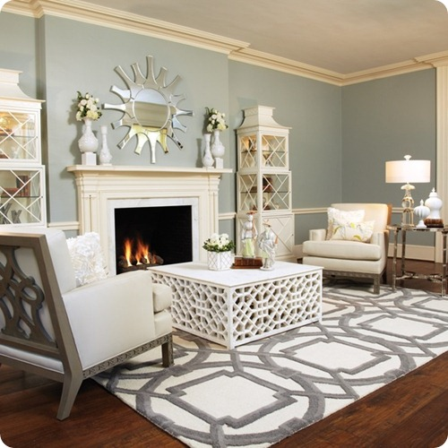 The 6 Living Room Design Mistakes To Avoid At All Costs: How To Paint A Floor {and What NOT To Do}