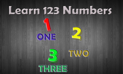 Learn 123 Numbers