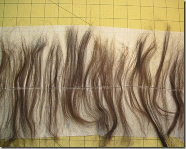 Сделать трессы из искусственных волос
