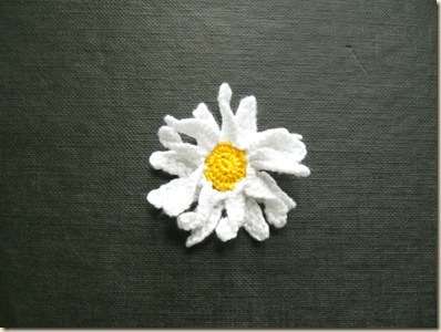 Two layers of petals for daisy