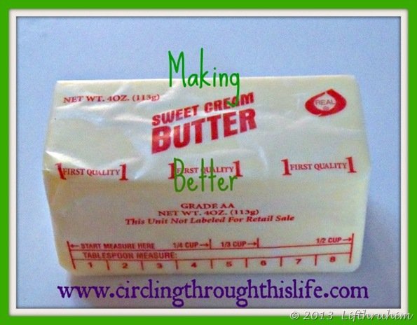 Photo of a stick of butter