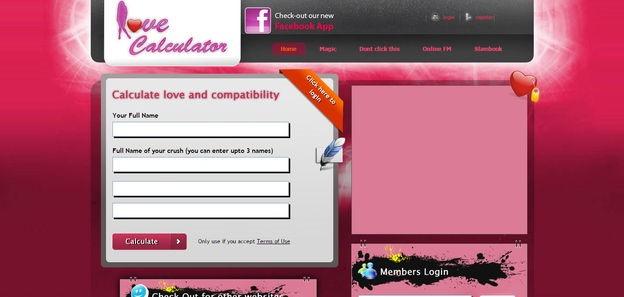 Love calculator viral script | codester.