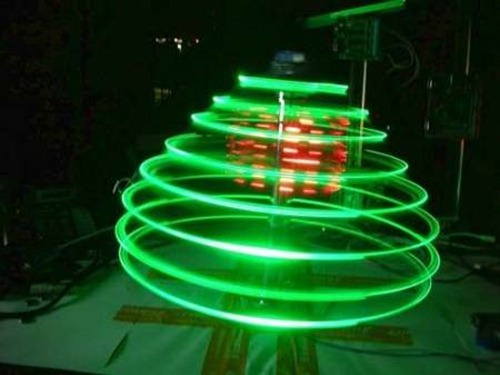 spinning-illuminated-christmas-tree