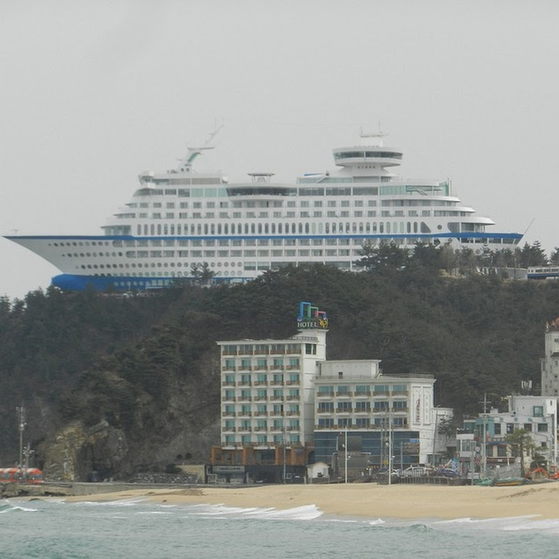 Cruise Ship On a Cliff is Actually a Hotel