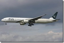 Boeing 777-340ER della Pakistan International Airlines