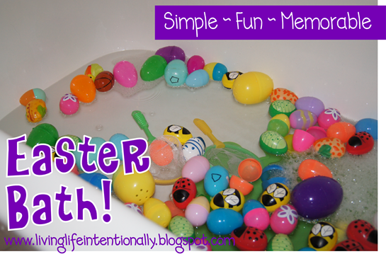 Easter Egg Bath from 123 Homeschool 4 Me