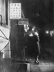 Bill Brandt - Woman in Hamburg  St. Pauli District - 1933
