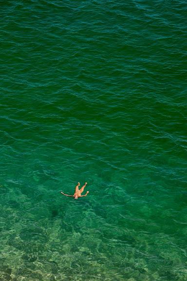 Platja de s'Illa Roja, platja nudista. Costa Brava, Begur, Baix Empordà, Girona