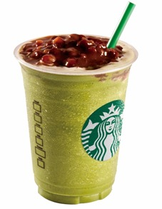 Red Bean Green Tea Frappuccino Blended Beverage