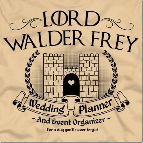 Walder Frey: Wedding Planner