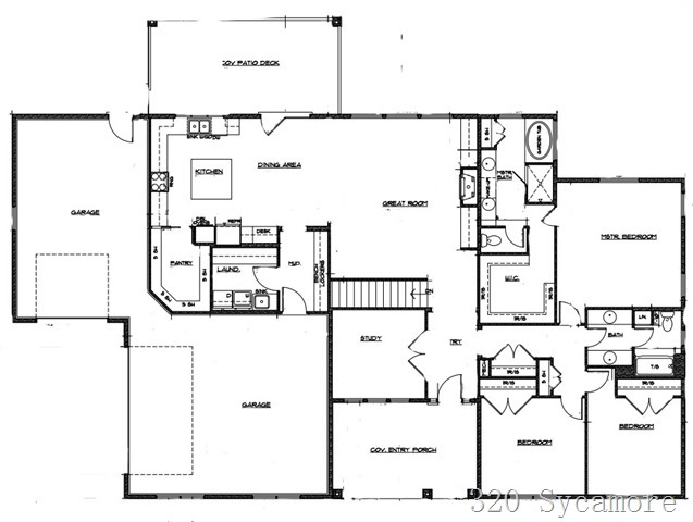 320 sycamore floor plan