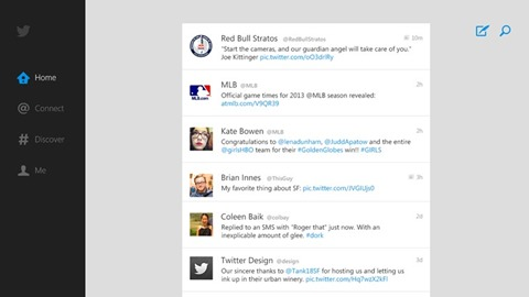 Twitter para Windows 8