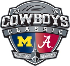 Alabama Michigan Dallas logo