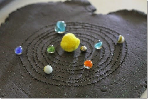 solar system brownie - photo #14
