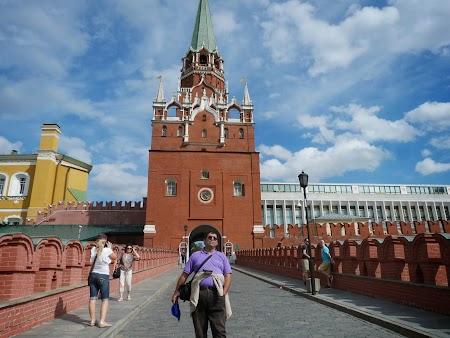 Obiective turistice Moscova: Intrarea la Kremlin