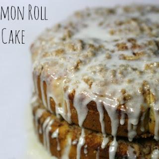 Cinnamon Roll Crumb Cake