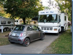 7704 Lundy's Lane - Niagara Falls KOA - motorhome and rental Fiat