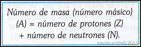 numero de masa