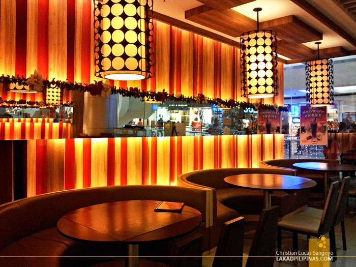 Cozy and Modern Design at President Tea House SM North Edsa