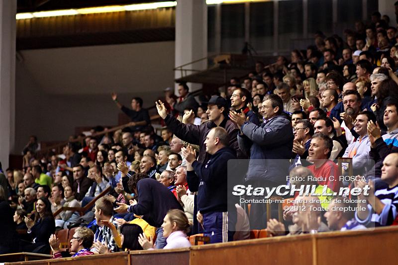 Publicul din Sala Sporturilor / BC Mureș - SCM U Craiova, 12 noiembrie 2012