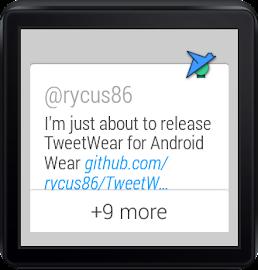TweetWear Screenshot 1