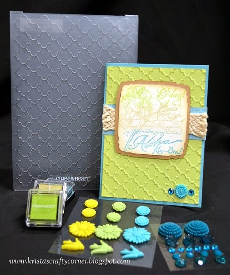Embossing folder_Skylark_Hawaii card_items used DSC_2111