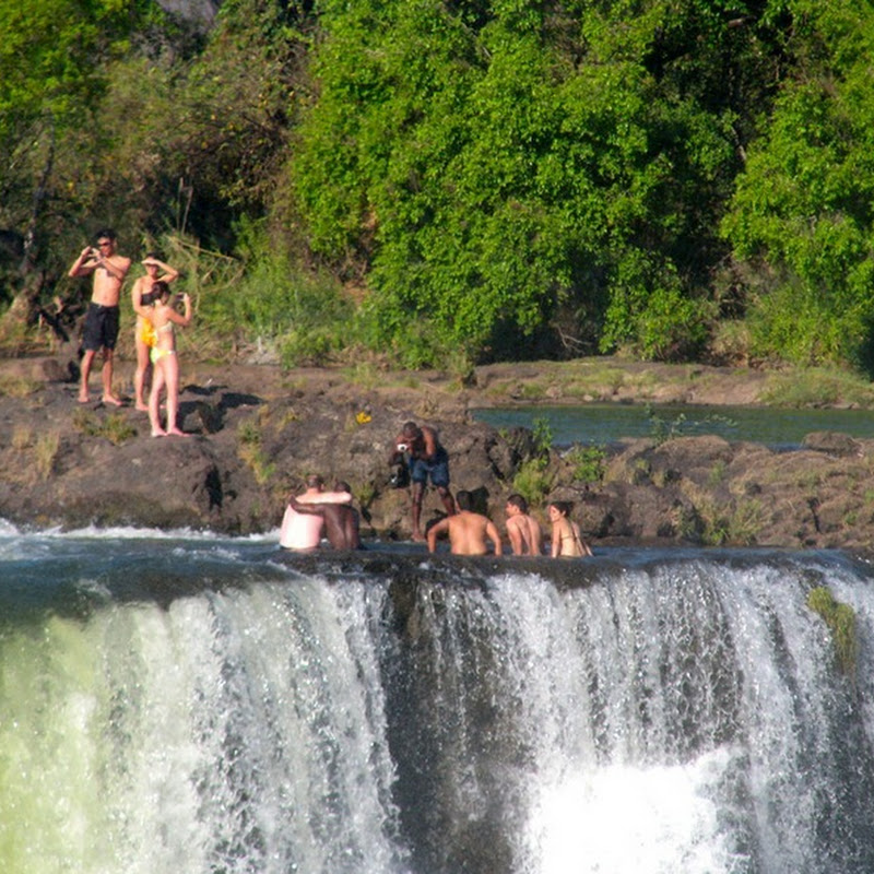 Devil's Pool: Swimming on the Edge of the Victoria Falls