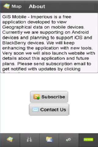 GIS Mobile - Imperious- screenshot