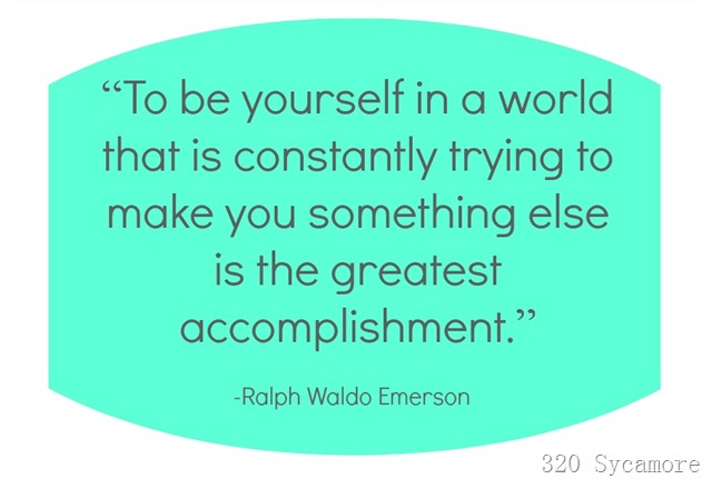 be yourself emerson