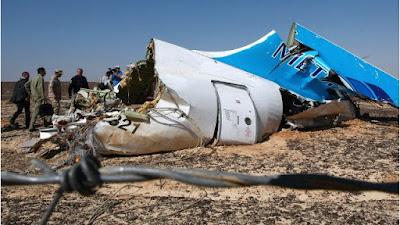 Máy bay Nga bị rớt tại Sinai, Ai Cập
