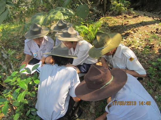 TraiDungThuaThioem2013 28 BHD GĐPT Thừa Thiên tổ chức Trại Dũng năm 2013