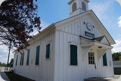 Dad attended this school house from 1932-1937. Five grades were taught in this one room school house.